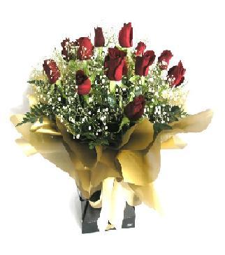 Van internetten çiçek siparişi  11 adet kirmizi gül  buketi
