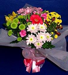Van hediye çiçek yolla  küçük karisik mevsim demeti