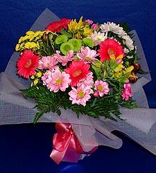 karisik sade mevsim demetligi   Van 14 şubat sevgililer günü çiçek