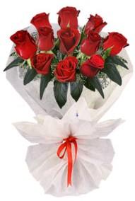 11 adet gül buketi  Van internetten çiçek siparişi  kirmizi gül