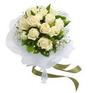 Van online çiçekçi , çiçek siparişi  11 adet benbeyaz güllerden buket