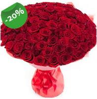 Özel mi Özel buket 101 adet kırmızı gül  Van anneler günü çiçek yolla