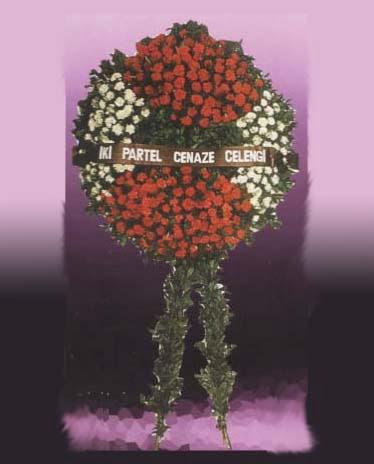 Van yurtiçi ve yurtdışı çiçek siparişi  Iki partel çelenk cenaze için