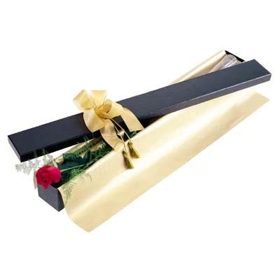 Van uluslararası çiçek gönderme  tek kutu gül özel kutu