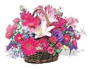 küçük karisik özel sepet   Van çiçek online çiçek siparişi