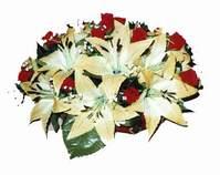 yapay karisik çiçek sepeti   Van internetten çiçek siparişi