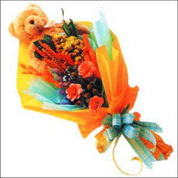 ayicik gül ve kir çiçekleri   Van çiçekçi mağazası