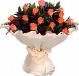 11 adet gonca gül buket   Van çiçek gönderme sitemiz güvenlidir