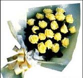 sari güllerden sade buket  Van çiçek , çiçekçi , çiçekçilik