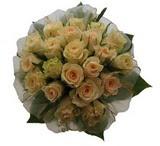 12 adet sari güllerden buket   Van uluslararası çiçek gönderme