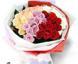 SEVENLERE ÖZEL 51 ADET GÜL  Van internetten çiçek satışı