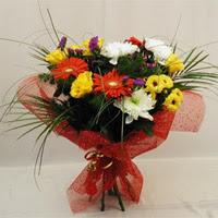 Van hediye çiçek yolla  Karisik mevsim demeti