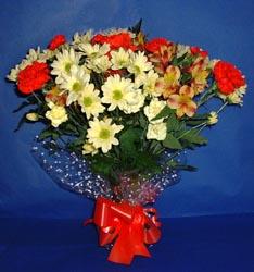 Van hediye çiçek yolla  kir çiçekleri buketi mevsim demeti halinde