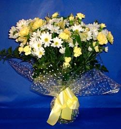 Van hediye çiçek yolla  sade mevsim demeti buketi sade ve özel