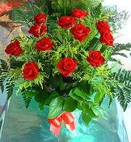 12 adet gül buketi  Van anneler günü çiçek yolla