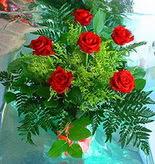 6 adet kirmizi gül buketi   Van online çiçek gönderme sipariş