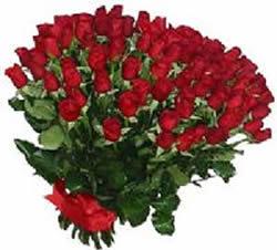 51 adet kirmizi gül buketi  Van çiçekçiler