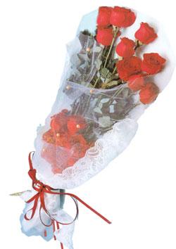 11 adet kirmizi güller buket tanzimi   Van çiçek siparişi sitesi