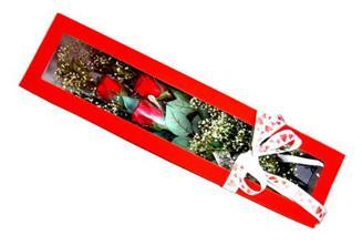 Van hediye çiçek yolla  Kutuda 3 adet gül