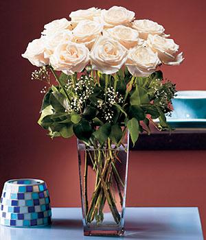 Van hediye sevgilime hediye çiçek  Cam yada mika vazo içerisinde 12 gül