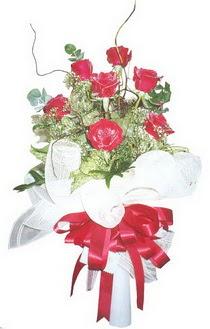 Van çiçek siparişi sitesi  7 adet kirmizi gül buketi