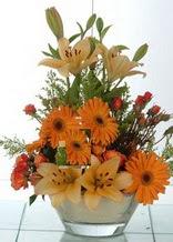 Van çiçek servisi , çiçekçi adresleri  cam yada mika vazo içinde karisik mevsim çiçekleri