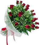 Van internetten çiçek satışı  11 adet kirmizi gül buketi sade ve hos sevenler