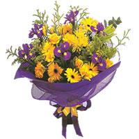 Van çiçek gönderme sitemiz güvenlidir  Karisik mevsim demeti karisik çiçekler
