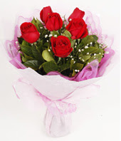 9 adet kaliteli görsel kirmizi gül  Van çiçek gönderme