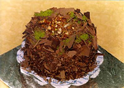 Çikolatali 4 ila 6 kisilik yas pasta  Van çiçek gönderme sitemiz güvenlidir