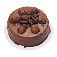 Kestaneli çikolatali yas pasta  Van çiçek , çiçekçi , çiçekçilik
