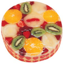 Meyvali 4 ile 6 kisilik yas pasta leziz  Van hediye çiçek yolla