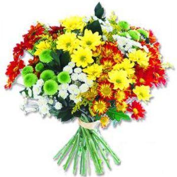 Kir çiçeklerinden buket modeli  Van online çiçek gönderme sipariş