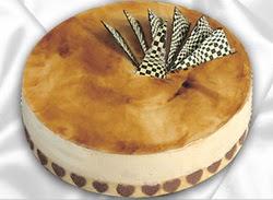taze pasta 4 ile 6 kisilik yas pasta karamelli yaspasta  Van çiçekçiler