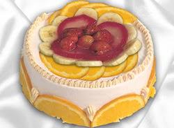 leziz pastane 4 ile 6 kisilik yas pasta meyvali yaspasta  Van kaliteli taze ve ucuz çiçekler