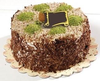 pasta gönderme 4 ile 6 kisilik çikolatali yas pasta  Van çiçek satışı