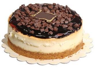 pasta yolla 4 ile 6 kisilik çikolatali yas pasta  Van online çiçek gönderme sipariş