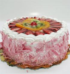 görsel pastacilar 4 ile 6 kisilik yas pasta karisik meyvali  Van çiçek online çiçek siparişi