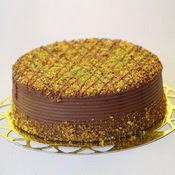sanatsal pastaci 4 ile 6 kisilik krokan çikolatali yas pasta  Van cicek , cicekci