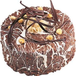 pasta satisi 4 ile 6 kisilik çikolatali yas pasta  Van İnternetten çiçek siparişi