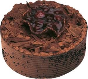pasta satisi 4 ile 6 kisilik çikolatali yas pasta  Van çiçek , çiçekçi , çiçekçilik