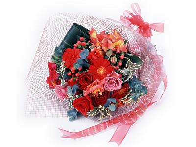 Karisik buket çiçek modeli sevilenlere  Van uluslararası çiçek gönderme