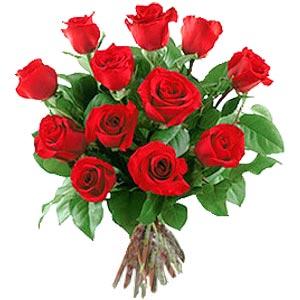 11 adet bakara kirmizi gül buketi  Van güvenli kaliteli hızlı çiçek