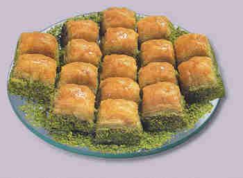 pasta tatli satisi essiz lezzette 1 kilo fistikli baklava  Van internetten çiçek siparişi