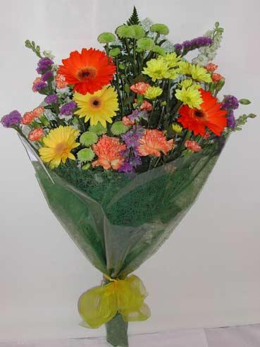 karisik kir çiçek buketi çiçek gönderimi  Van cicekciler , cicek siparisi