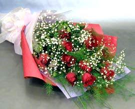 10 adet kirmizi gül çiçegi gönder  Van anneler günü çiçek yolla