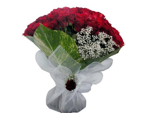 25 adet kirmizi gül görsel çiçek modeli  Van çiçek servisi , çiçekçi adresleri
