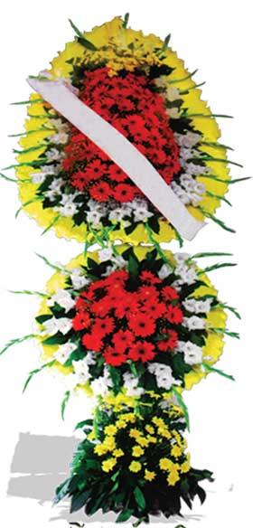 Dügün nikah açilis çiçekleri sepet modeli  Van çiçek yolla