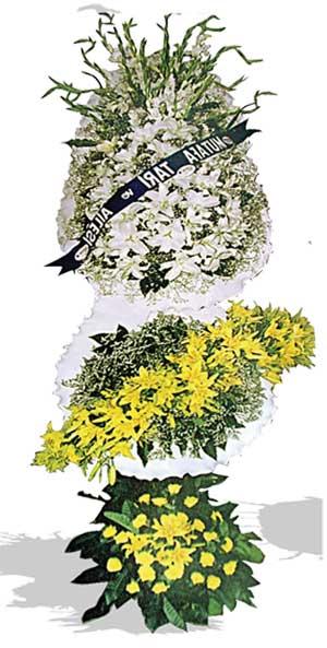 Dügün nikah açilis çiçekleri sepet modeli  Van çiçek , çiçekçi , çiçekçilik