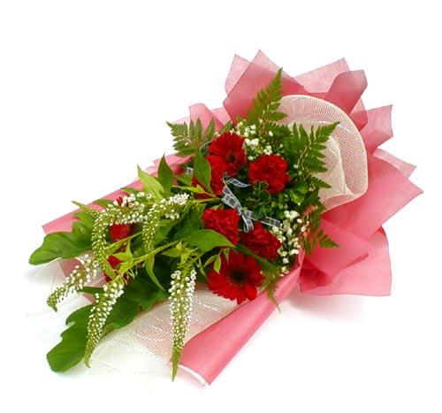 Karisik çiçek buketi mevsim buket  Van çiçek siparişi sitesi